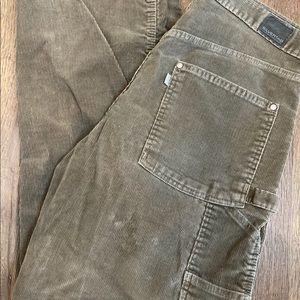 """Men's Silver Tab Corduroy Pants Size 32x32 13""""Rise"""